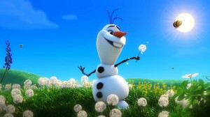 Olaf-Snowman-in-Summer